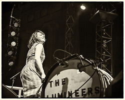 The Lumineers perform at The Greek Theater - Berkeley, CA - 4/19/13