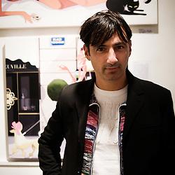Monsieur Z, illustrator. Paris, France. 14 November 2009. Photo: Antoine Doyen