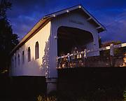 Grave Creek Covered Bridge, Oregon.