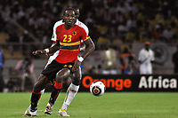 FOOTBALL - AFRICAN NATIONS CUP 2010 - GROUP A - ANGOLA v MALI - 10/01/2010 - PHOTO KADRI MOHAMED / DPPI - MANUCHO (ANG)