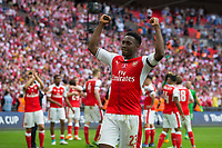 Arsenal's Danny Welbeck celebrates after the match      <br /> <br /> <br /> Photographer Craig Mercer/CameraSport<br /> <br /> The Emirates FA Cup Final - Arsenal v Chelsea - Saturday 27th May 2017 - Wembley Stadium - London<br />  <br /> World Copyright © 2017 CameraSport. All rights reserved. 43 Linden Ave. Countesthorpe. Leicester. England. LE8 5PG - Tel: +44 (0) 116 277 4147 - admin@camerasport.com - www.camerasport.com