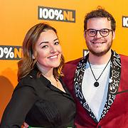 NLD/Amsterdam/20190208- 100% NL Awards  2019,Mascha Feoktistova en partner Gregor