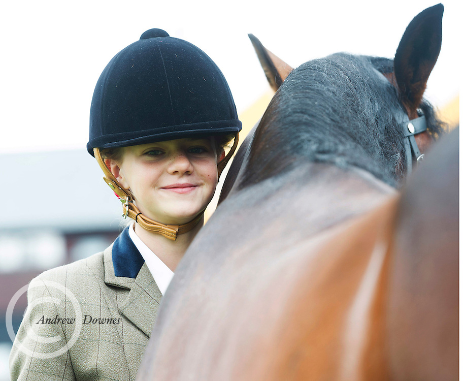 18/08/2016 repro free Sarah Harper Westport with Lankily Pearl at the 93rd annual Connemara Pony show in Clifden Co. Galway. Photo:Andrew Downes, XPOSURE