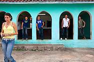 Posers in Gibara,Holguin,Cuba.