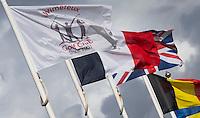 WIMEREUX   (FR.) - Vlaggen  van Wimereux Golf Club . Copyright Koen Suyk