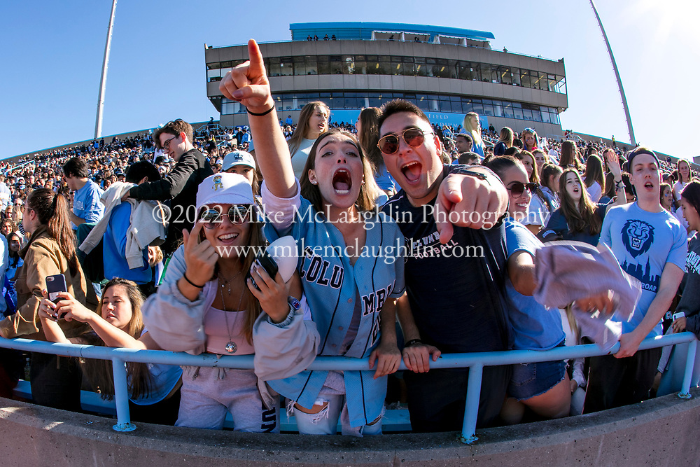 October 19, 2019 New York, NY<br /> Columbia University football takes on the University of Pennsylvania during their annual homecoming game.<br /> 2019 Mike McLaughlin<br /> https://mclaughlin.photoshelter.com/<br /> Mike McLaughlin