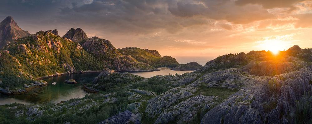 Hamarøy, Norway. July 2021.