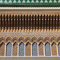 North Africa, Morocco, Fes. Dar el Makhzen, or Royal Palace of Fes.
