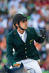 Marlon Modolo Zanotelli, (BRA), AD Clouwni - World Champions, - Second Round Team Competition - Alltech FEI World Equestrian Games™ 2014 - Normandy, France.<br /> © Hippo Foto Team - Leanjo De Koster<br /> 25/06/14