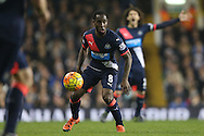 Vurnon Anita of Newcastle United in action. Barclays Premier league match, Tottenham Hotspur v Newcastle Utd at White Hart Lane in London on Sunday 13th December 2015.<br /> pic by John Patrick Fletcher, Andrew Orchard sports photography.