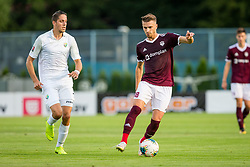Tevz Pokorn of NK Triglav Kranj during Football match between NK Triglav Kranj and NK Rudar Velenje in Round #3 of Prva liga Telekom Slovenije 2019/20, on July 27, 2019 in Sports park Kranj, Kranj, Slovenia. Photo by Ziga Zupan / Sportida