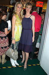 Left to right, sisters POPPY DELEVINGNE and CHLOE DELEVINGNE at a party to celebrate the launch of the new Matthew Williamson fragrance held at Harvey Nichols, Knightsbridge, London on 14th June 2005.<br />