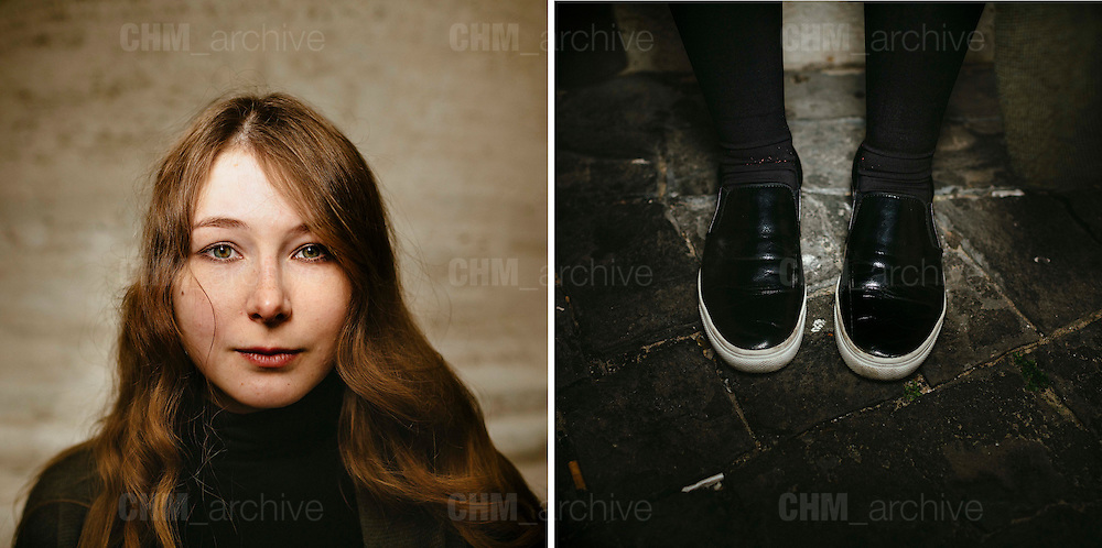 Evelina. 21 years old. Munich, Germany. <br /> Rome 09 December 2015. Christian Mantuano / OneShot
