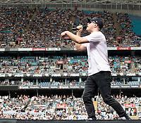 Illy at Fire Fight Australia at the  ANZ Stadium Sydney Australa 16 Feb 2020 Photo BY Rhiannon Hopley