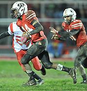 Firelands at Brookside varsity football on October 28, 2011.