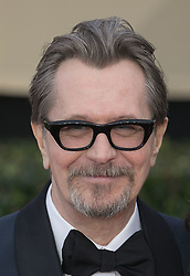 January 21, 2018 - Los Angeles, California, U.S - Actor GARY OLDMAN during red carpet arrivals for the 24th Annual Screen Actors Guild Awards, held at The Shrine Expo Hall. (Credit Image: © Prensa Internacional via ZUMA Wire)