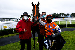 My Brother Mike ridden by Jimmy Quinn trained by John Stimpson wins the Best Free Tips At valuerater.co.uk Classified Stakes (Div I) - Mandatory by-line: Robbie Stephenson/JMP - 19/08/2020 - HORSE RACING - Bath Racecourse - Bath, England - Bath Races