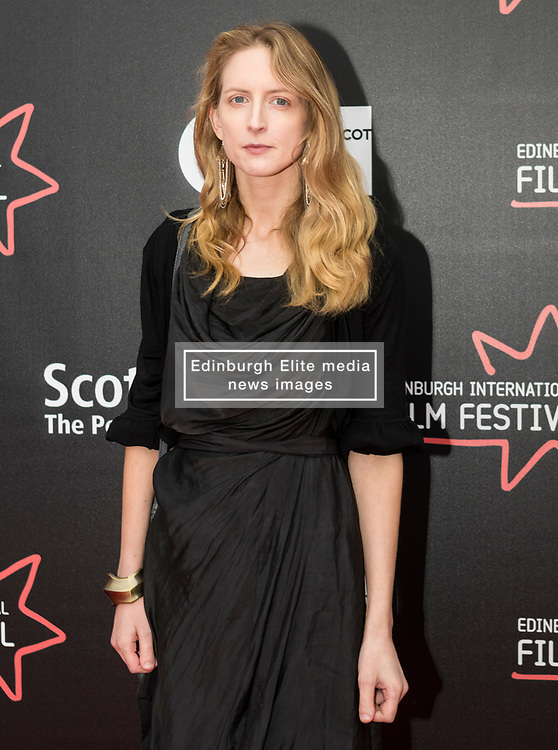 Photo-call and Red Carpet for the film Edie, directed by Simon Hunter at the Edinburgh International Film Festival<br /> <br /> Pictured: Elizabeth O'Halloran (Writer)