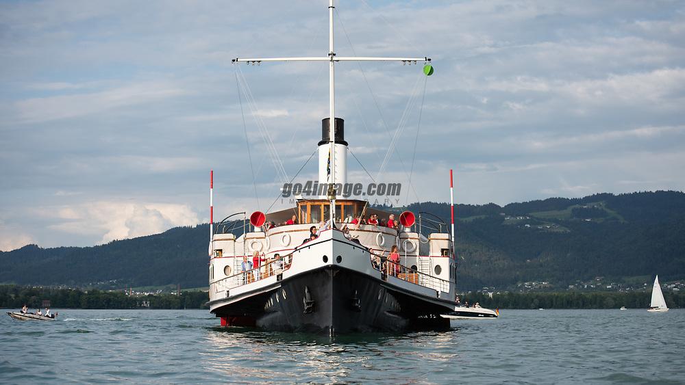 RUND UM 2018, 1.6.2018, Dampfschiff Hohentwiel<br /> Photo © Juerg Kaufmann