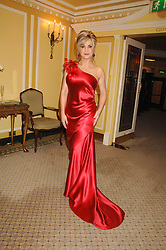 Singer LESLEY GARRETT at the Chain of Hope Ball held at The Dorchester, Park Lane, London on 4th February 2008.<br />
