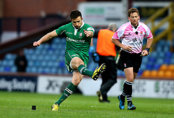 Tommy Bell of London Irish kicks a successful penalty - Mandatory by-line: Robbie Stephenson/JMP - 17/05/2017 - RUGBY - Headingley Carnegie Stadium - Leeds, England - Yorkshire Carnegie v London Irish - Greene King IPA Championship Final 1st Leg