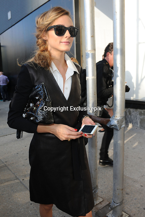 Sept. 7, 2014 - New York, NY, USA - <br /> <br /> Diane Von Furstenberg Fashion Show<br /> <br /> Olivia Palermo attending Diane Von Furstenberg fashion show during Mercedes-Benz Fashion Week Spring 2015 at Spring Studios on September 7, 2014 in New York City  <br /> ©Exclusivepix