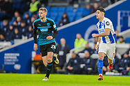Sam Field (West Brom) & Beram Kayal (Brighton) during the FA Cup fourth round match between Brighton and Hove Albion and West Bromwich Albion at the American Express Community Stadium, Brighton and Hove, England on 26 January 2019.