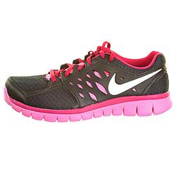 Nike Flex Black / Pink Womens Running Shoe Packshot