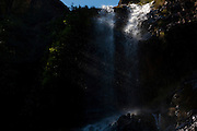 Santana do Riacho_MG, Brasil...Cachoeira da Farofa, Parque Nacional da Serra do Cipo...Farofa waterfall, It is in the National Park Serra do Cipo. ..Foto: LEO DRUMOND / NITRO