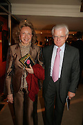 LORD AND LADY STEVENS OF LUDGATE Grosvenor House Art & Antiques Fair charity gala evening in aid of Coram Foundation. Grosvenor House. Park Lane. London. 14 June 2007.  -DO NOT ARCHIVE-© Copyright Photograph by Dafydd Jones. 248 Clapham Rd. London SW9 0PZ. Tel 0207 820 0771. www.dafjones.com.