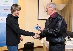 and Miro Cerar at Meeting of OKS in Grand hotel Union, on March 23, 2009, Ljubljana, Slovenia. (Photo by Vid Ponikvar / Sportida)