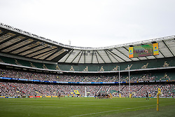 General View during the match - Rogan Thomson/JMP - 03/09/2016 - RUGBY UNION - Twickenham Stadium - London, England - Saracens v Worcester Warriors - Aviva Premiership London Double Header.