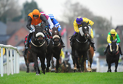 Brosna George ridden by Paul Townend win the Allianz Handicap Hurdle during day one of the Down Royal Festival.