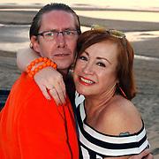 Beachclub Vroeger bestaat 1 jaar, Viola en Peter Holt