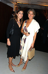 Left to right, LADY ROSE ALEXANDER and her mother COUNTESS ALEXANDER OF TUNIS at a party hosted by Jo Malone - Pomegranate Noir, held at The Vinyl Factory, 45 Foubert's Place, London W1 on 15th September 2005.<br /><br />NON EXCLUSIVE - WORLD RIGHTS