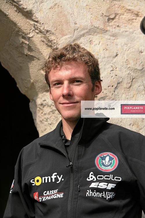 Ferréol Cannard - Biathlon - présentation de l'équipe de France de ski 2007-2008 - Photos exclusives - 9/10/2007 - JSB / PixPlanete