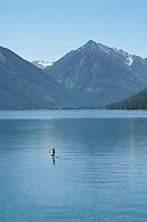 Paddle Boarding on Wallowa Lake Joseph, Oregon