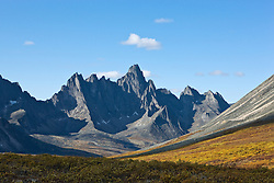 Yukon's Tombstone Territorial Park changing colour in late summer