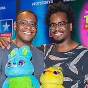 NLD/Utrecht/20190622 - Filmpremiere Toy Story 4, Howard Komproe met zijn broer Rogier Komproe