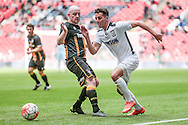 Pablo Haysham (Hereford FC) during the FA Vase match between Hereford and Morpeth Town at Wembley Stadium, London, England on 22 May 2016. Photo by Mark Doherty.
