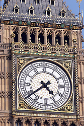21 April 2011. London, England..Big Ben in late afternoon light at the Houses of Parliament.Photo; Charlie Varley.