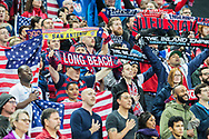 USA FC supporters ahead of the international Friendly match between England and USA at Wembley Stadium, London, England on 15 November 2018.