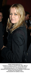 EMMA PARKER BOWLES at a reception in London on 3rd December 2003.  PPG 121