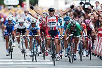 Sykkel<br /> Tour de France 2004<br /> 2. etappe<br /> 05.07.2004<br /> Foto: Dppi/Digitalsport<br /> NORWAY ONLY<br /> <br /> CHARLEROI - NAMUR<br /> <br /> ROBBIE MC EWEN (AUS) / LOTTO DOMO - WINNER<br /> THOR HUSHOVD