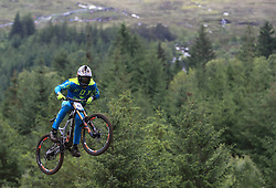 Francisco Pardal during day two of the 2017 UCI Mountain Bike World Cup at Fort William. PRESS ASSOCIATION Photo. Picture date: Sunday June 4, 2017. Photo credit should read: Tim Goode/PA Wire. RESTRICTIONS: Editorial use only, no commercial use without prior permission
