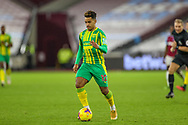 Matheus Pereira (12) of West Bromwich Albion during the Premier League match between West Ham United and West Bromwich Albion at the London Stadium, London, England on 19 January 2021.