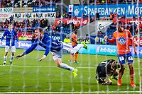Fotball , Eliteserien , 5 April 2017 , Aalesund - Sarpsborg 08 , Tobias Heintz<br /> <br />  , Foto: Marius Simensen, Digitalsport