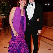 NLD/Noordwijk/20110326 - Inloop Spieren voor Spieren Gala 2011, Stephan Patrick Veen en partner Suzan