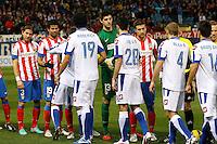 09.12.2012 SPAIN -  La Liga 12/13 Matchday 15th  match played between Atletico de Madrid vs R.C. Deportivo de la Courna (6-0) at Vicente Calderon stadium. The picture show