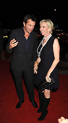 JAMES PUREFOY and TRUDIE STYLER at the opening of the Buddha Bar, Victoria Embankment, London on 8th September 2008.<br /> <br /> NON EXCLUSIVE - WORLD RIGHTS